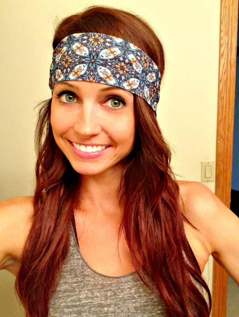 cute yoga headband