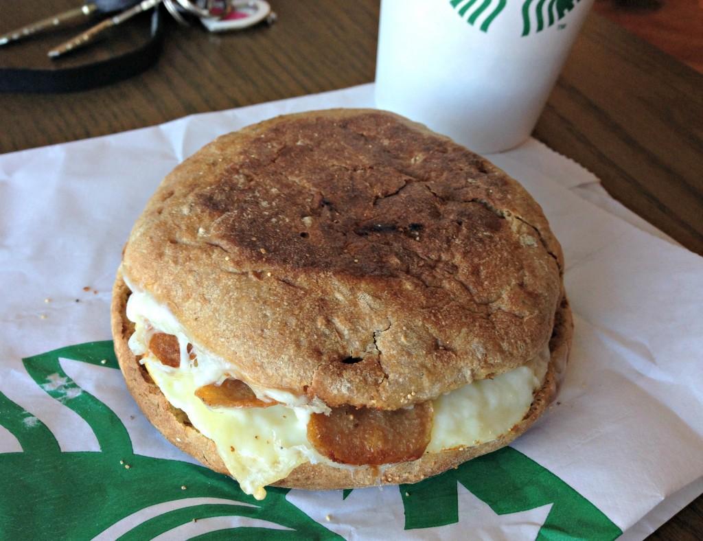 egg white starbucks breakfast sandwich