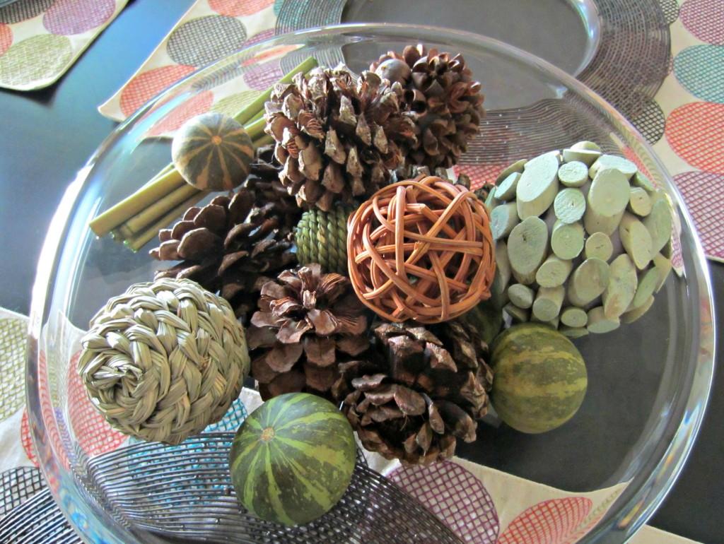 fall pine cones potpourri