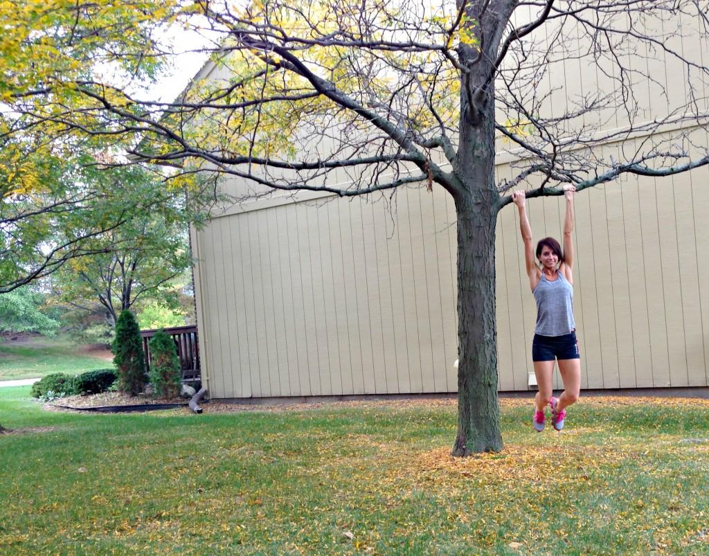 fall travel workout