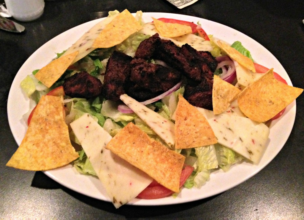 grilled steak salad HOOPS