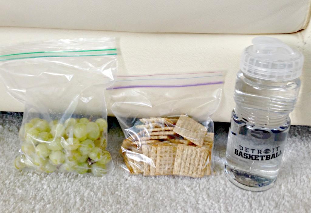 healthy snacks for practice