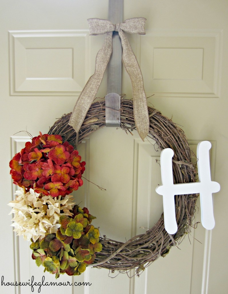 ridiculously easy DIY wreath