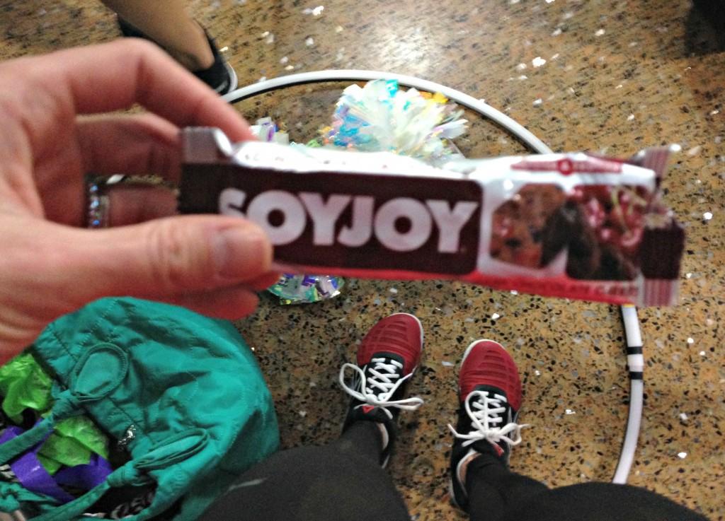 soyjoy at practice