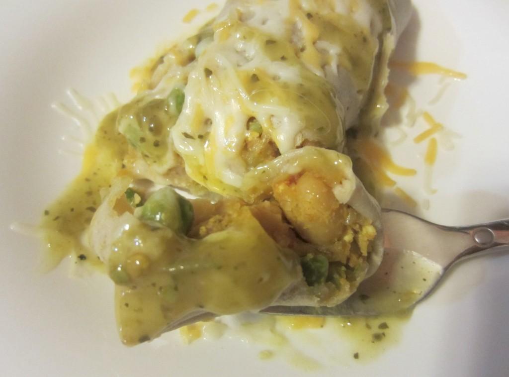 Amy's Kitchen tofu potato burrito