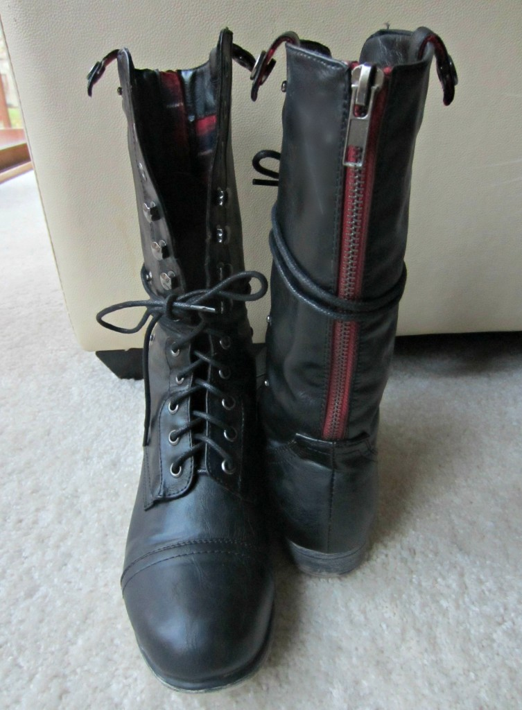 Charlotte Russe black winter boots