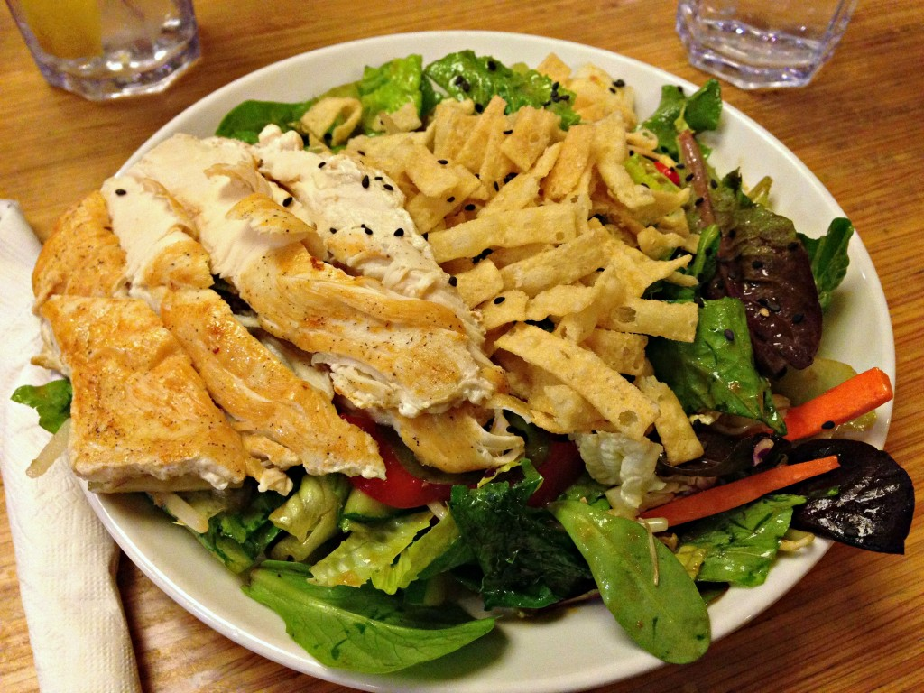 Chinese Chicken Salad at Noodles
