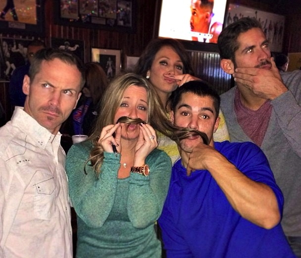 Movember with friends