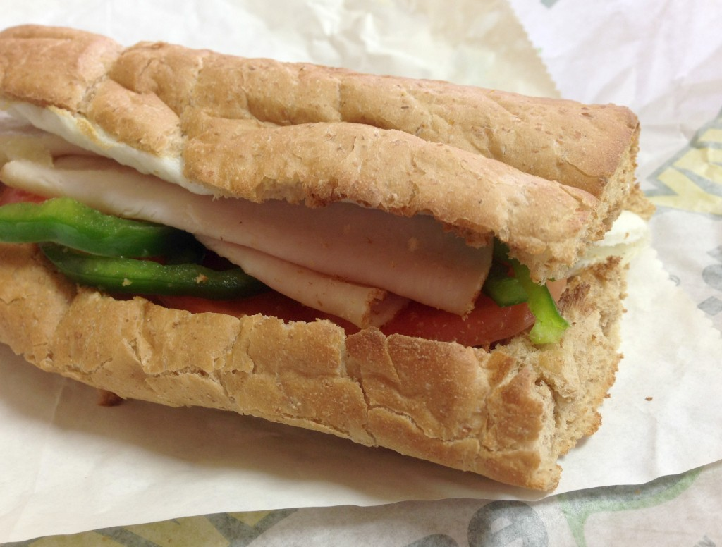 Subway breakfast sub