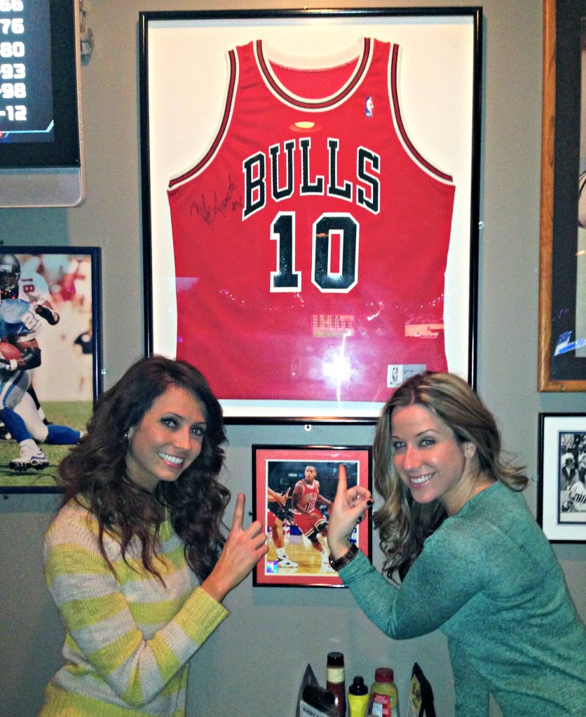 bulls jersey with kelley