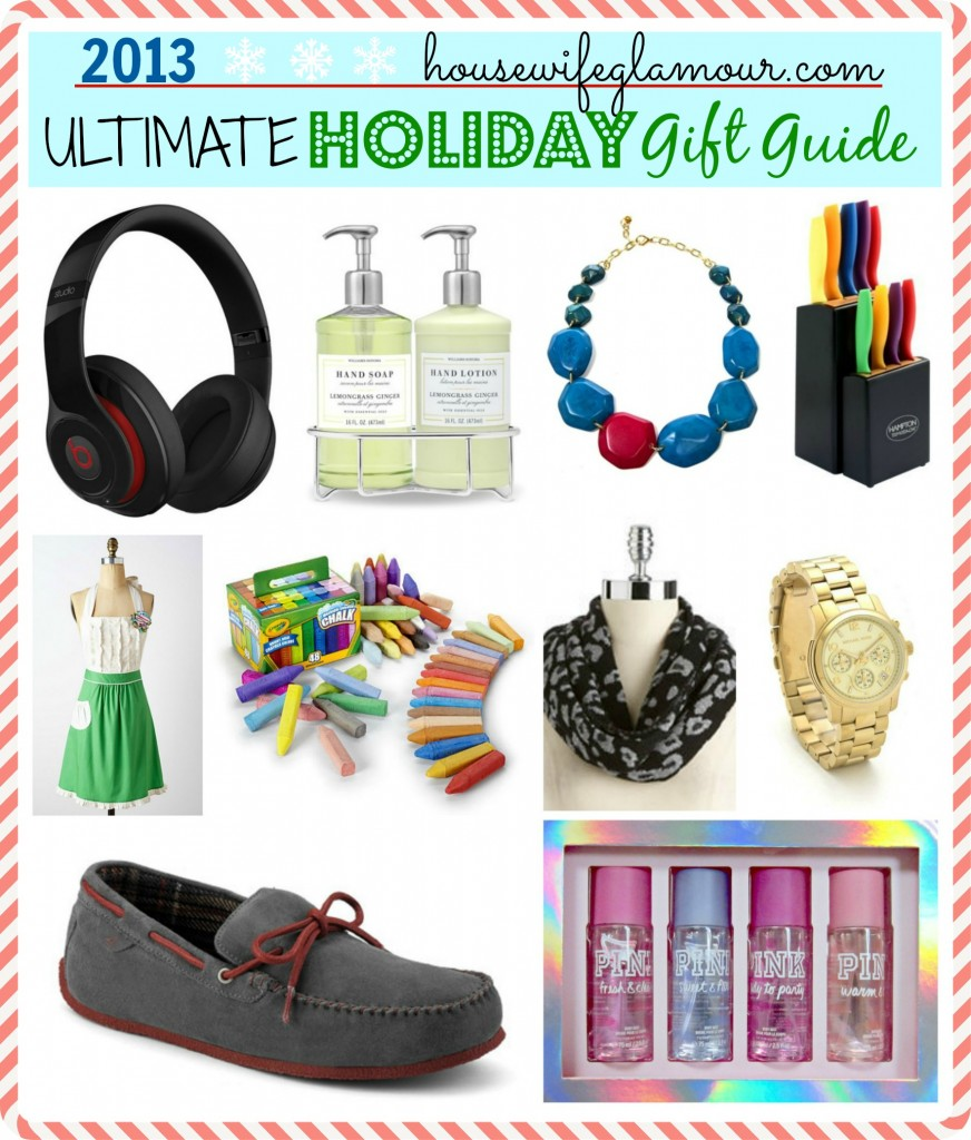 2013 Housewife Glamour Ultimate Holiday Gift Guide