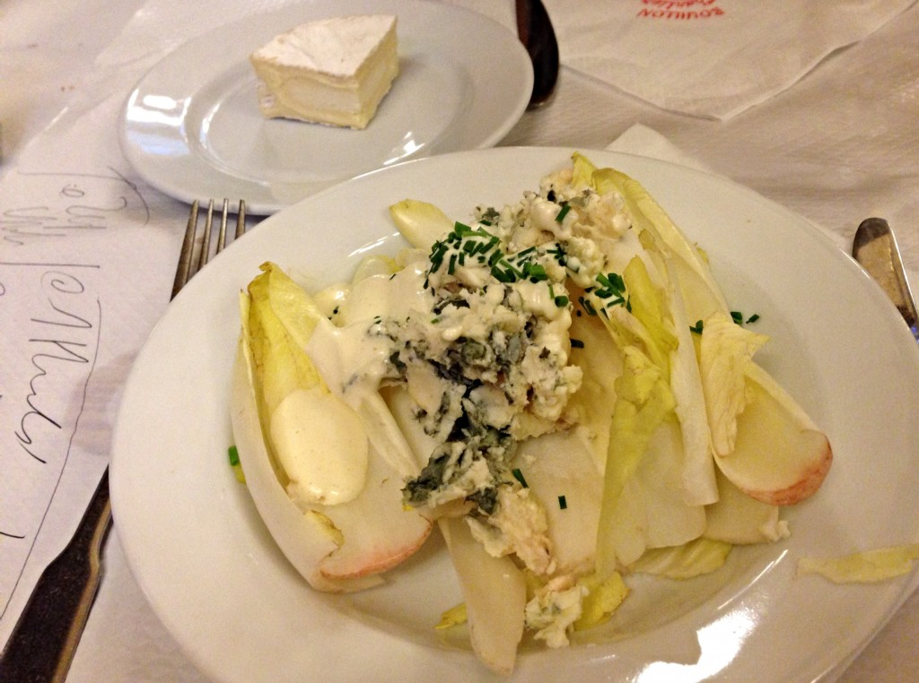 Bouillon Chartier Paris salad