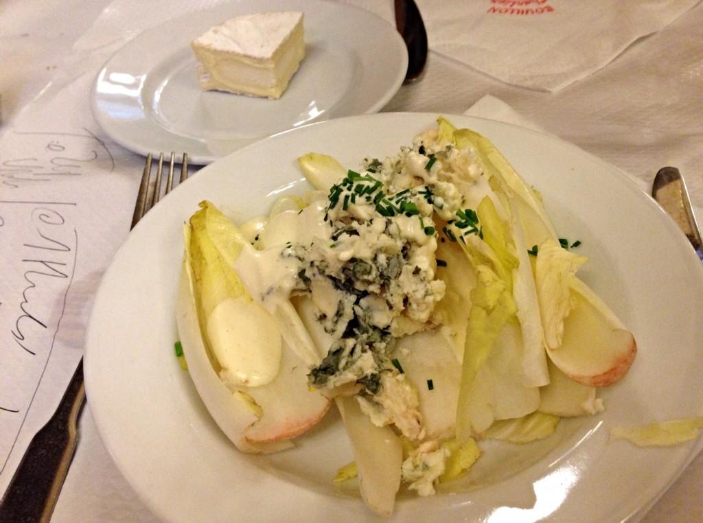 Bouillon Chartier Paris salad