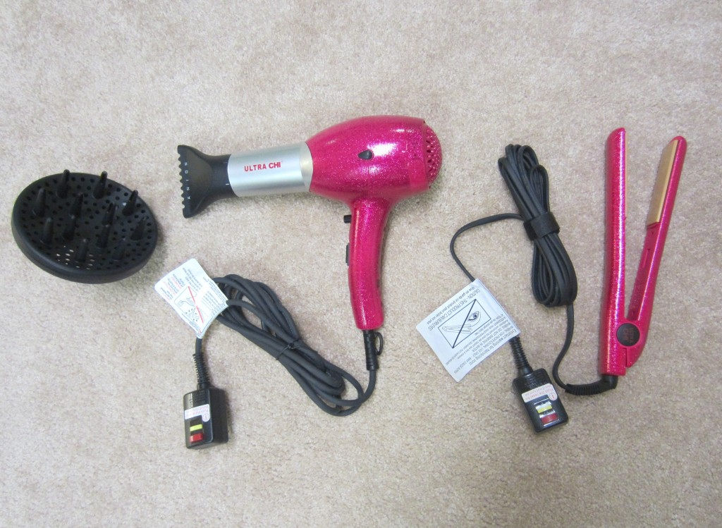 CHI Ultra Holiday blow dryer and straightener