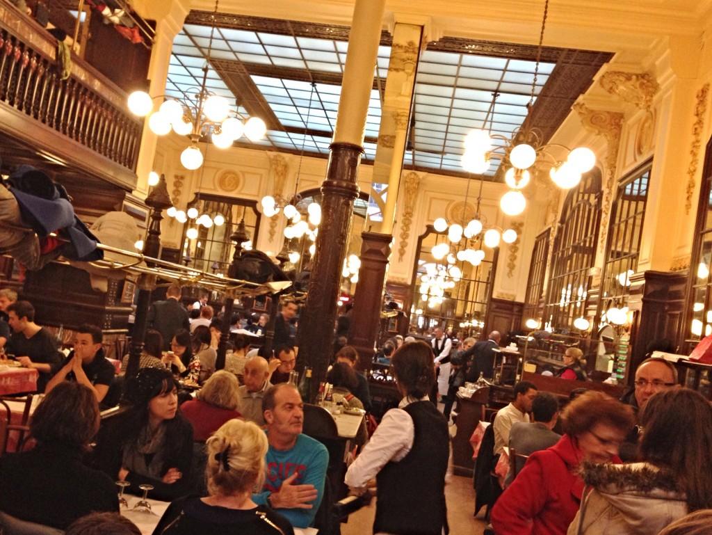 Chartier Restaurant Paris inside
