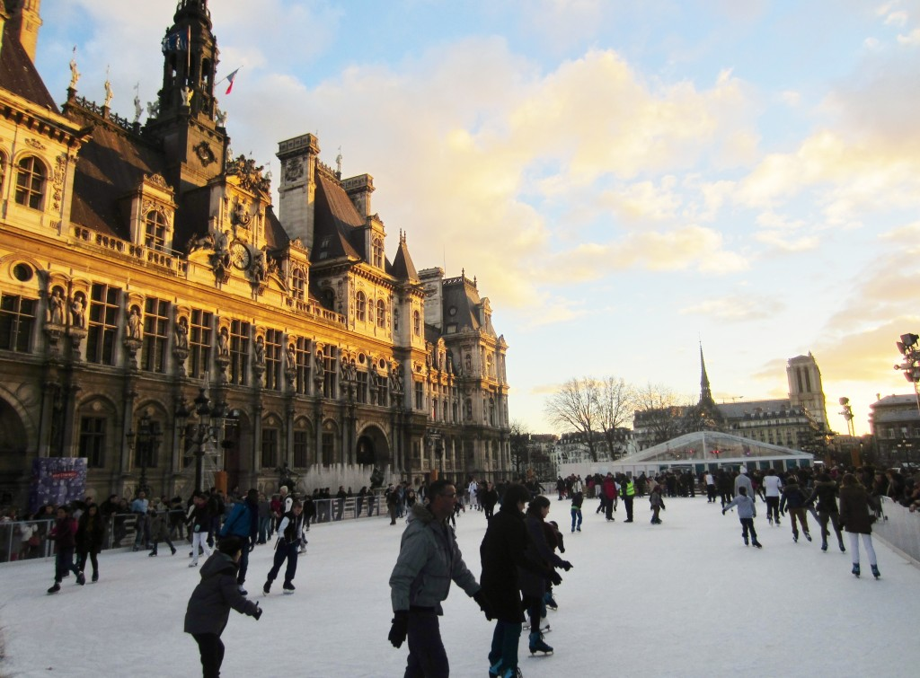 Hôtel de Ville ice skating
