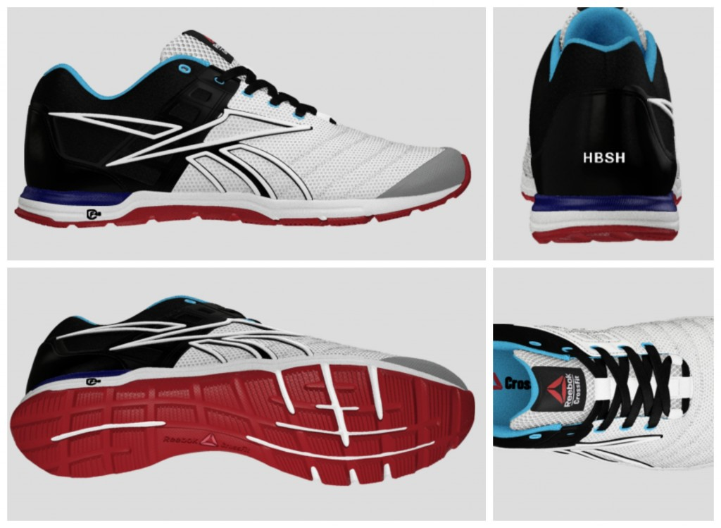 Heathers customized reebok nano speeds