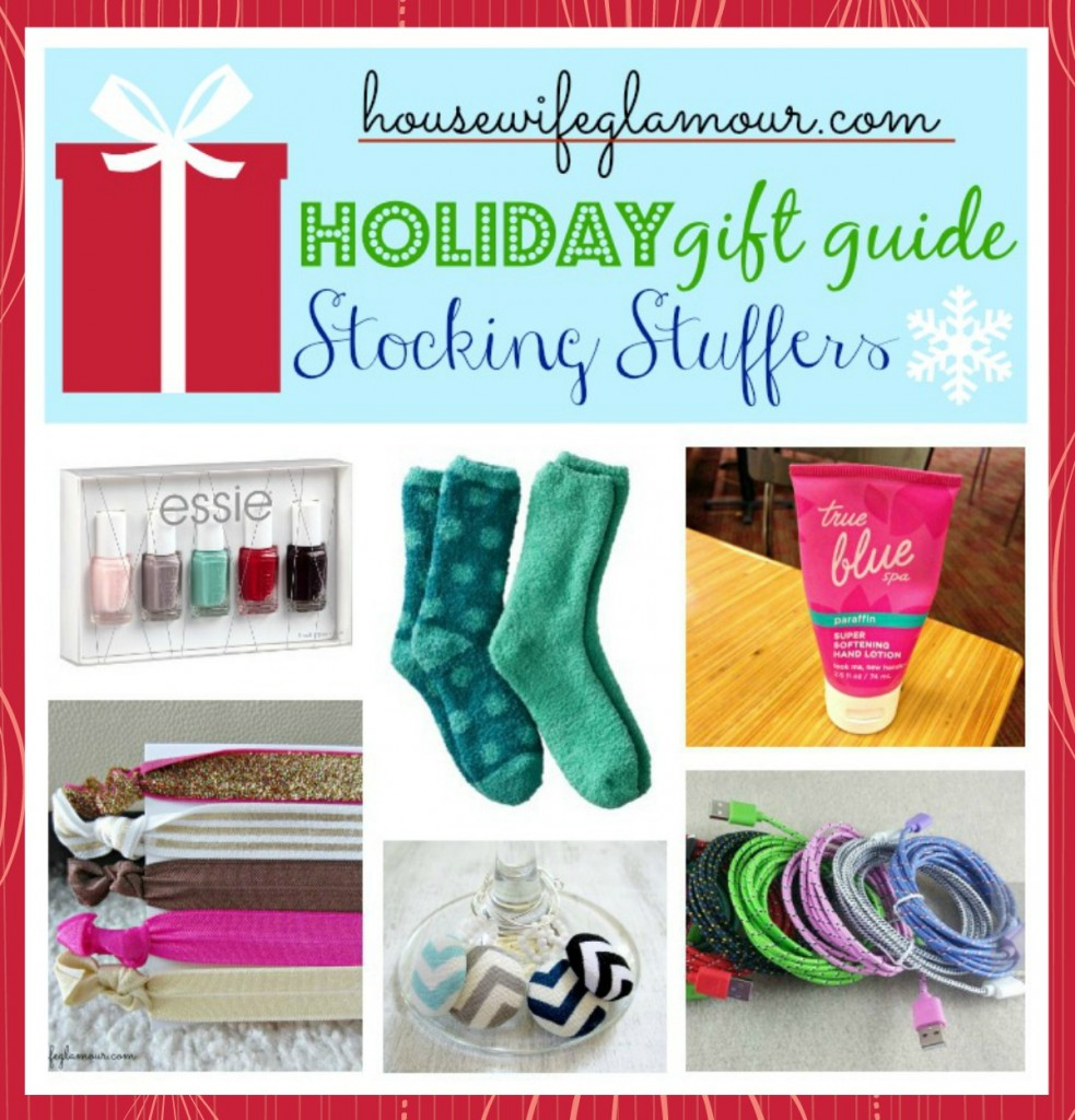 Holiday Gift Guide Stocking Stuffers 2013