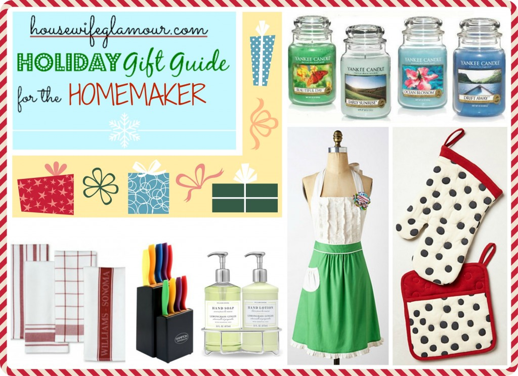 Housewife Glamour Holiday Gift Guide Homemakers