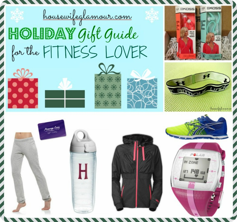 Housewife Glamour Holiday Gift Guide for Fitness Lovers