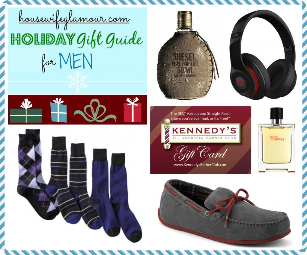 Housewife Glamour Holiday Gift Guide for Men