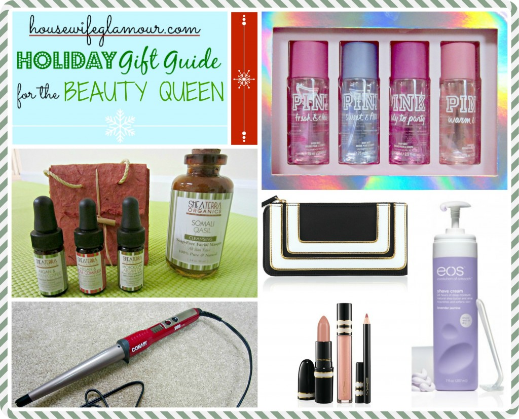 Housewife Glamour Holiday Gifts Beauty