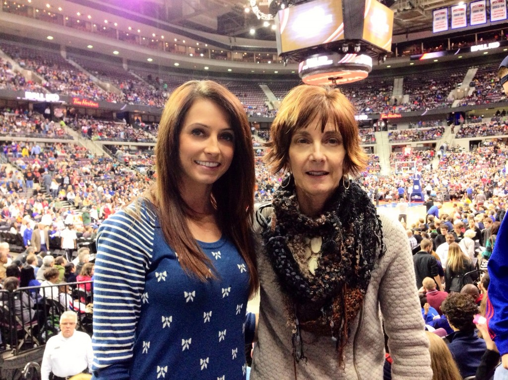 detroit pistons game with mom