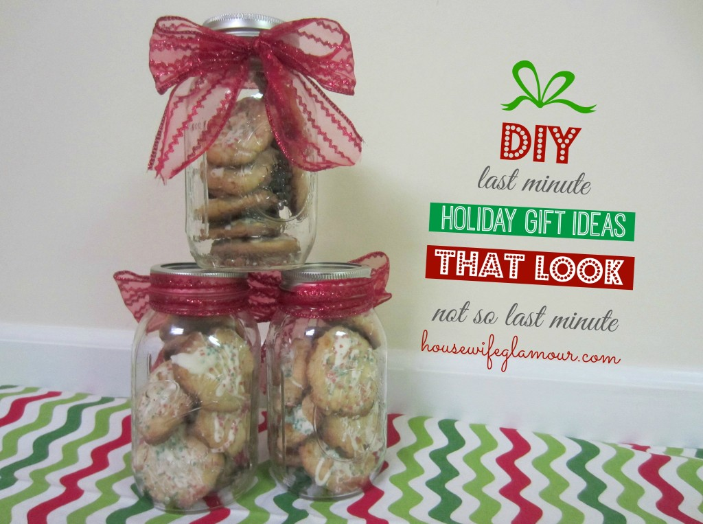 Last minute DIY Holiday Gift Ideas