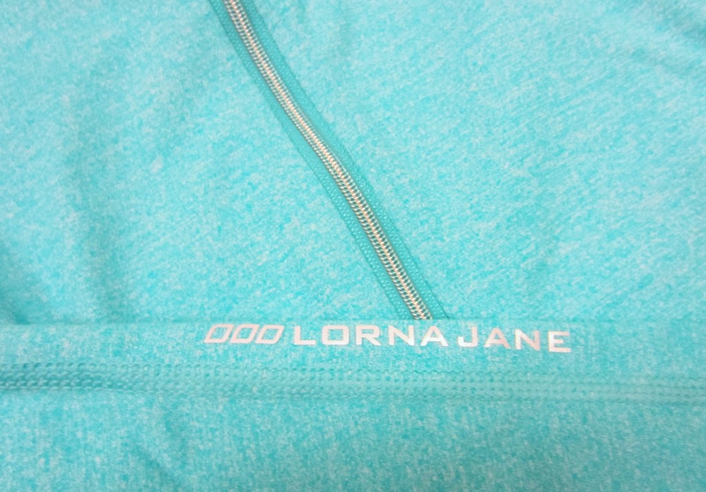 Lorna Jane Zip Up jacket closeup