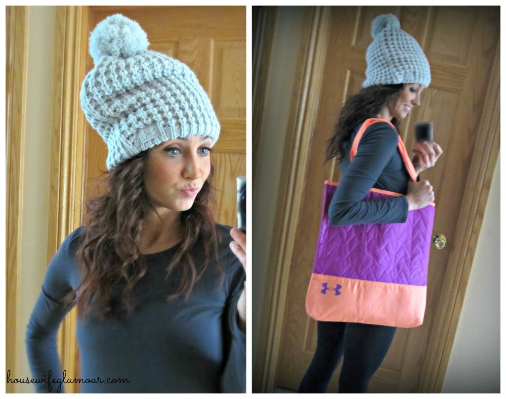 Women's UA Infrared Alpinelite Beanie and Storm Tote
