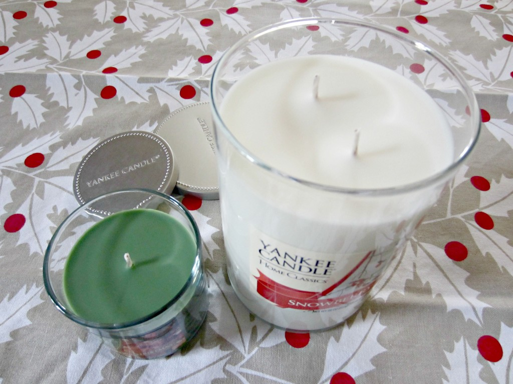Yankee Candle holiday scents