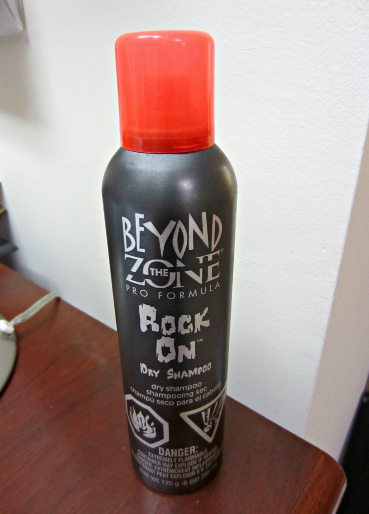 beyond the zone rock on dry shampoo