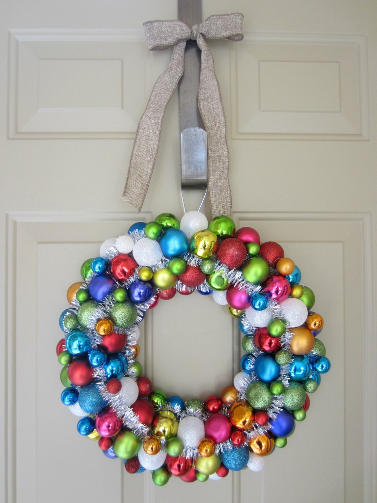 christmas ornament wreath from target