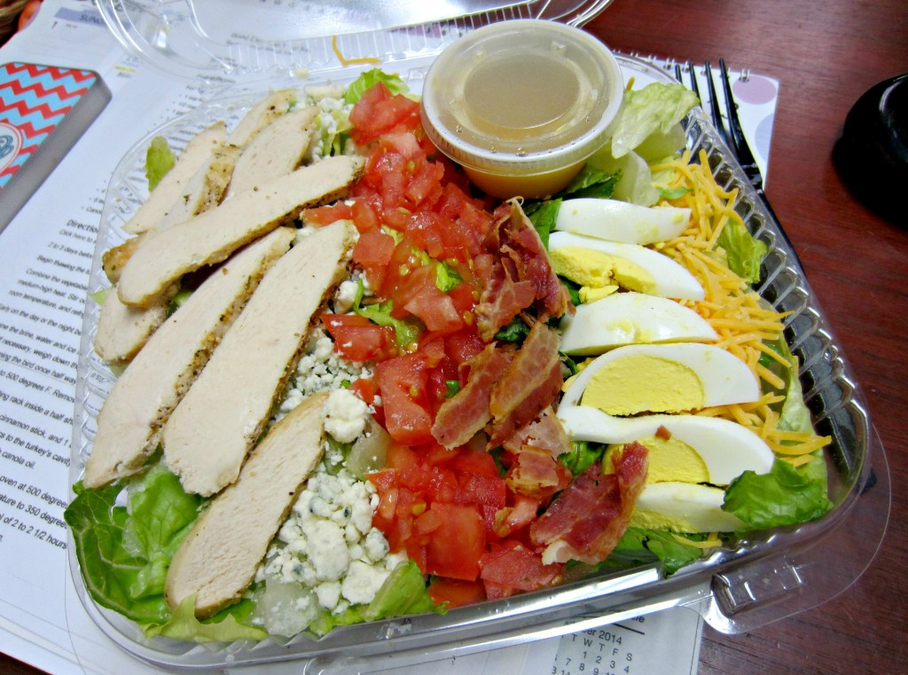 cobb chicken salad life time fitness