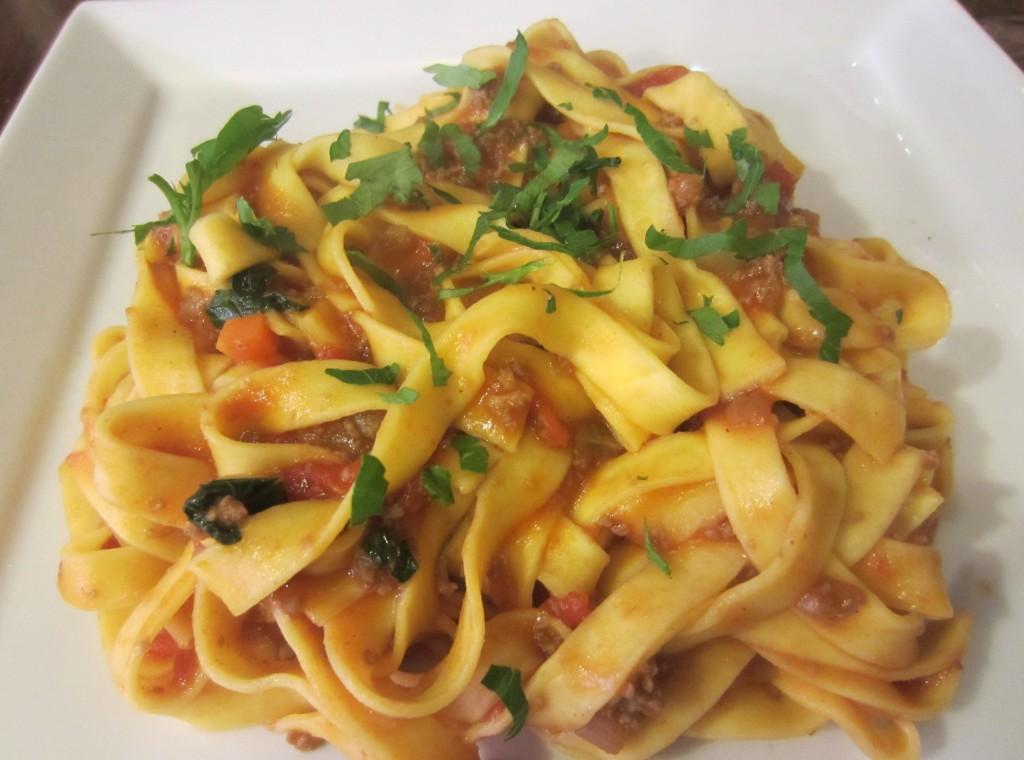 cucina italiana tentazioni linguine bolognase