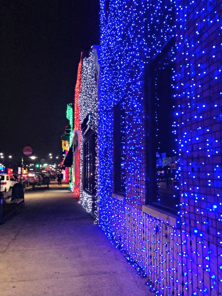 downtown rochester lights