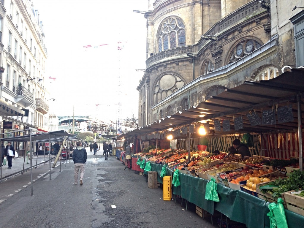 farmers market in paris