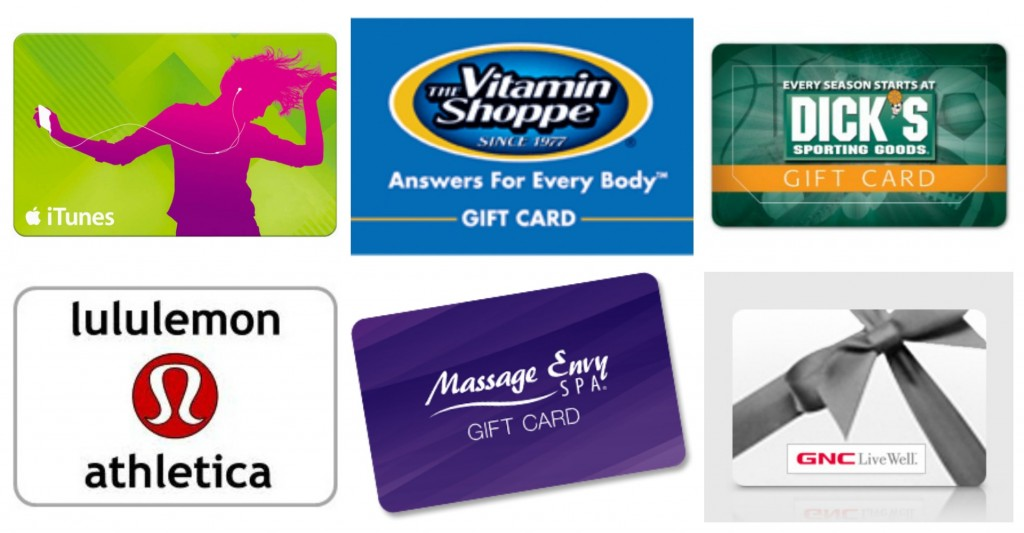gift cards for fitness enthusiasts