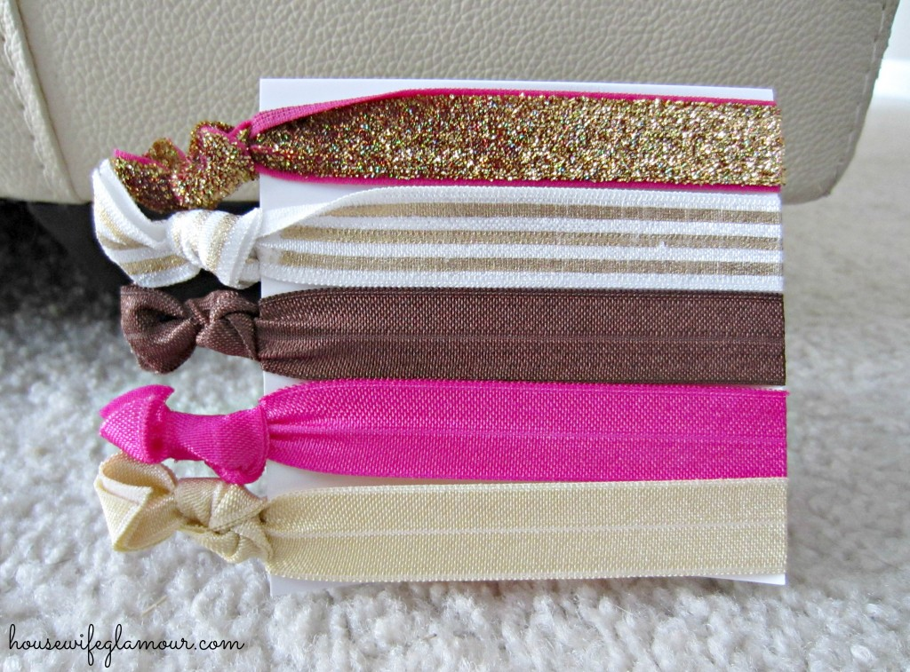 glitz and glamour hair tie bands