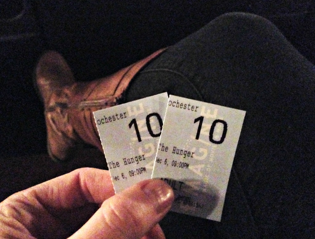 hunger games catching fire tickets