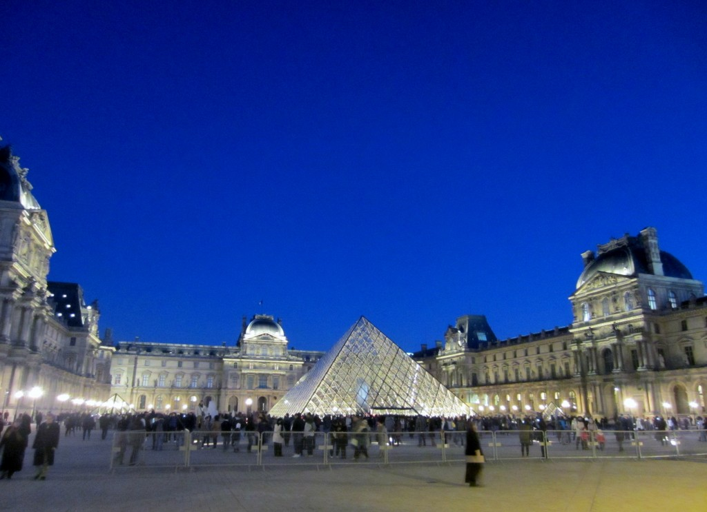le louvre outside