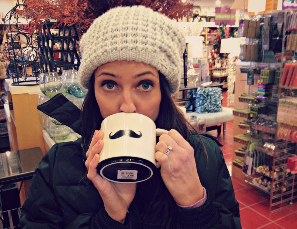 mustache mug pier 1