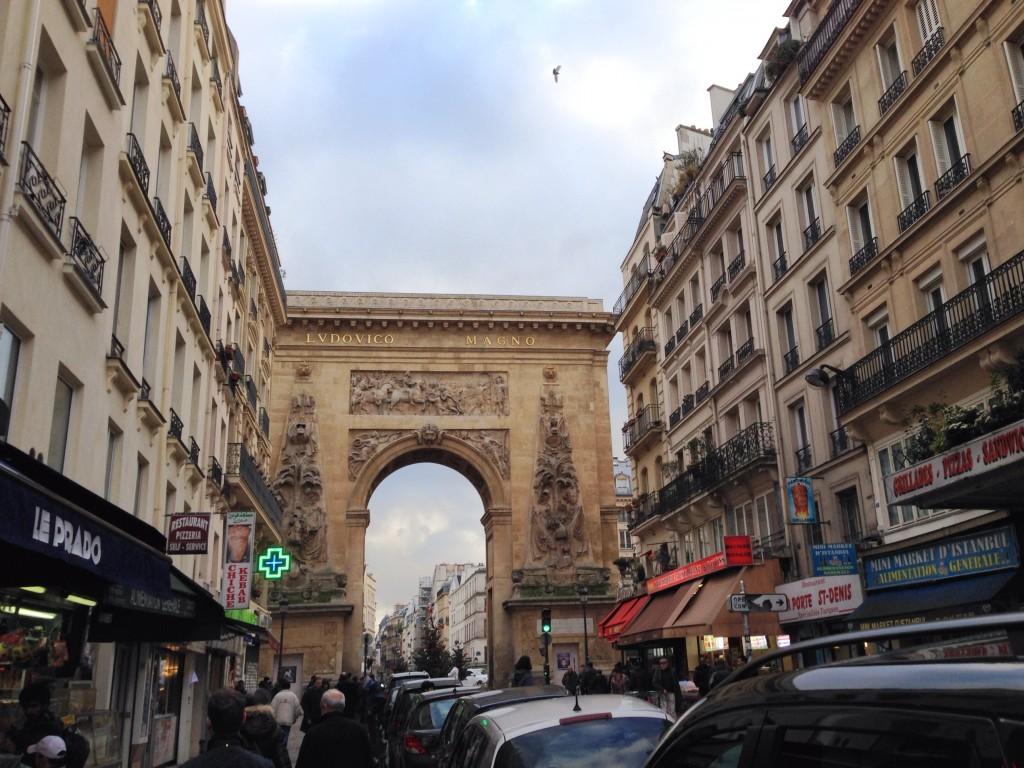 walking in Paris Day 1