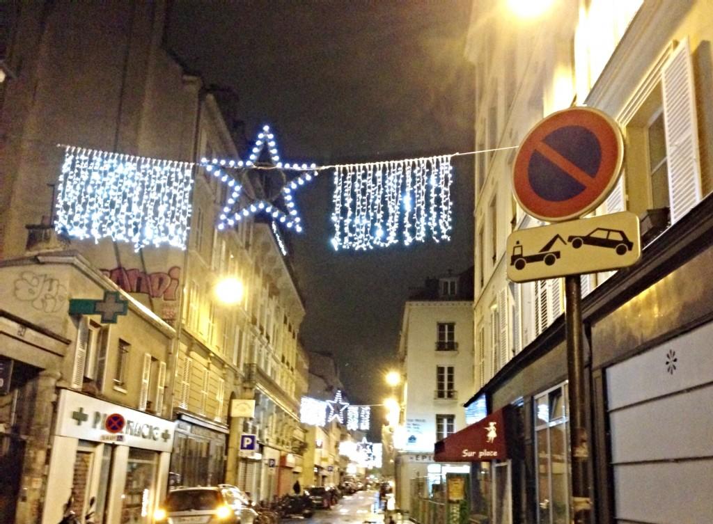walking in city of paris