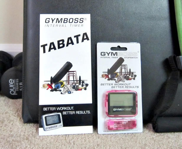 GymBoss Interval Timer giveaway