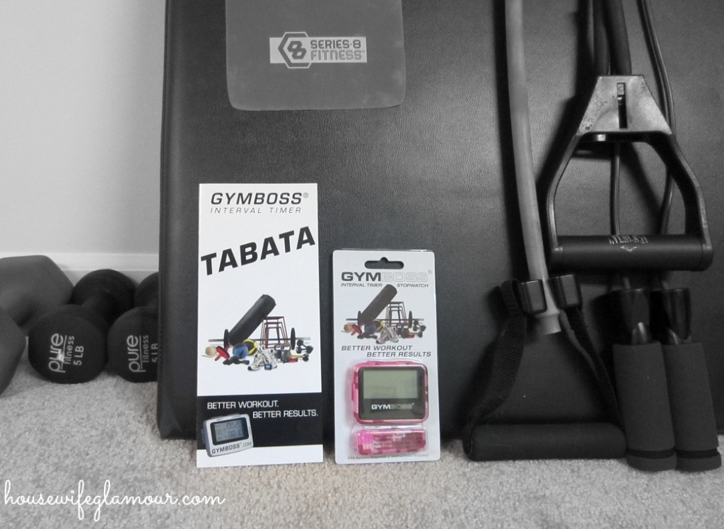 Gymboss interval timer stopwatch giveaway