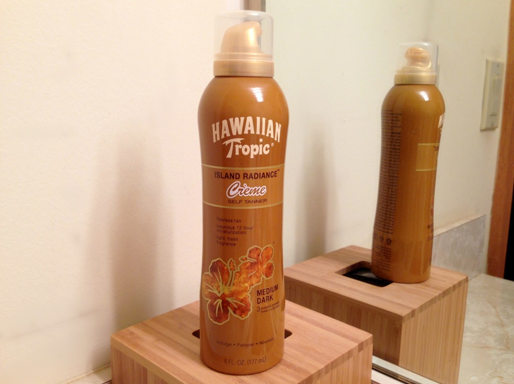 Hawaiian Tropic self tanner