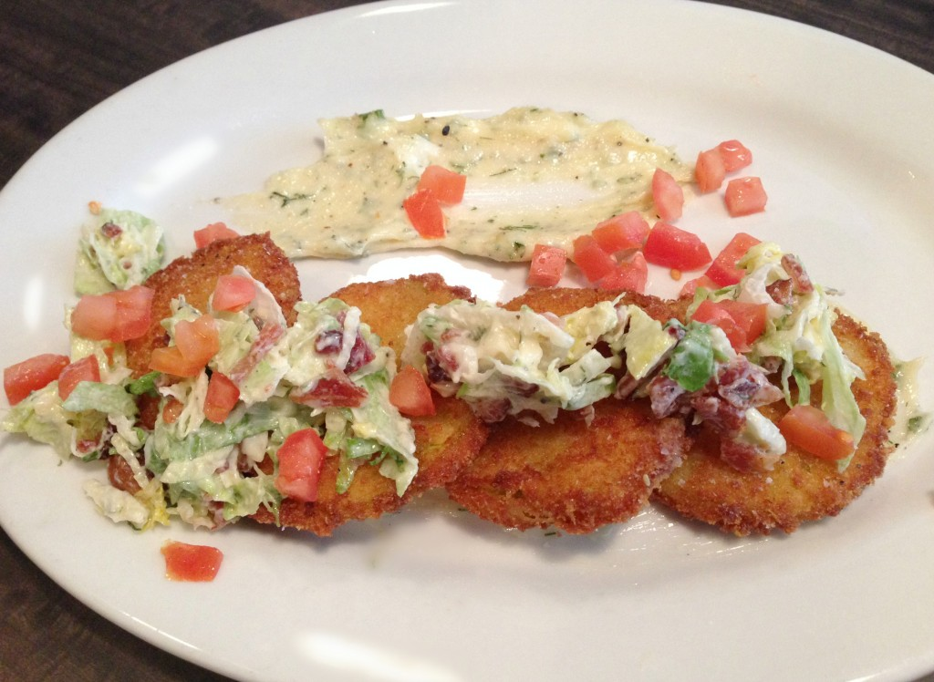 Penny Black Fried Green Tomatoes