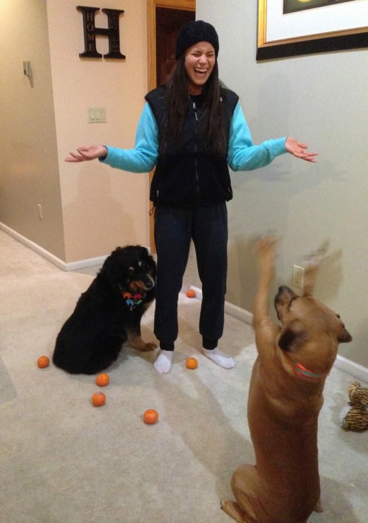 alex juggling with roadie