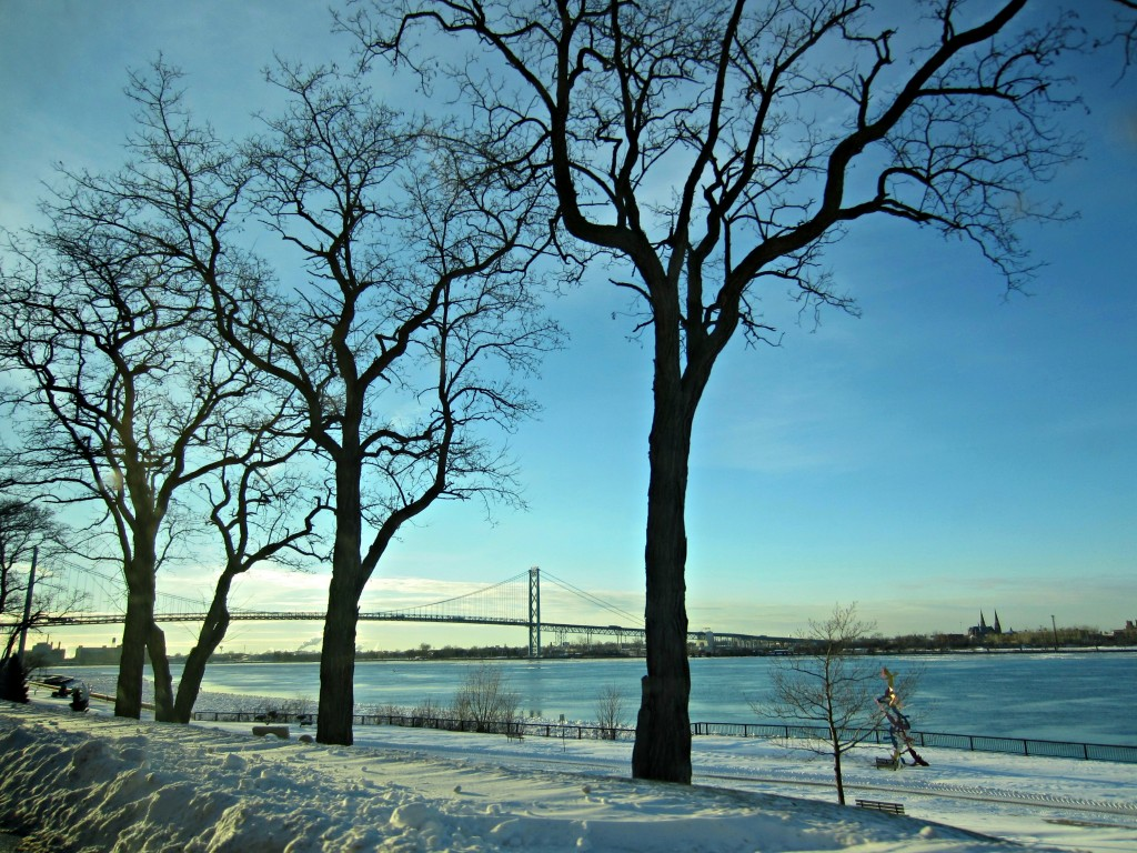 ambassador bridge in canada